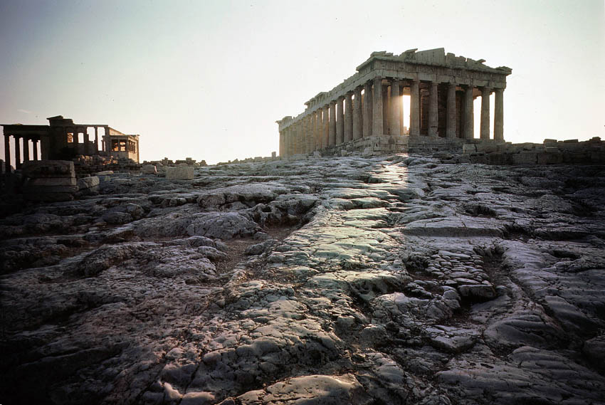 Parthenon sunrise