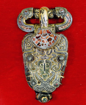 Vendel brooch